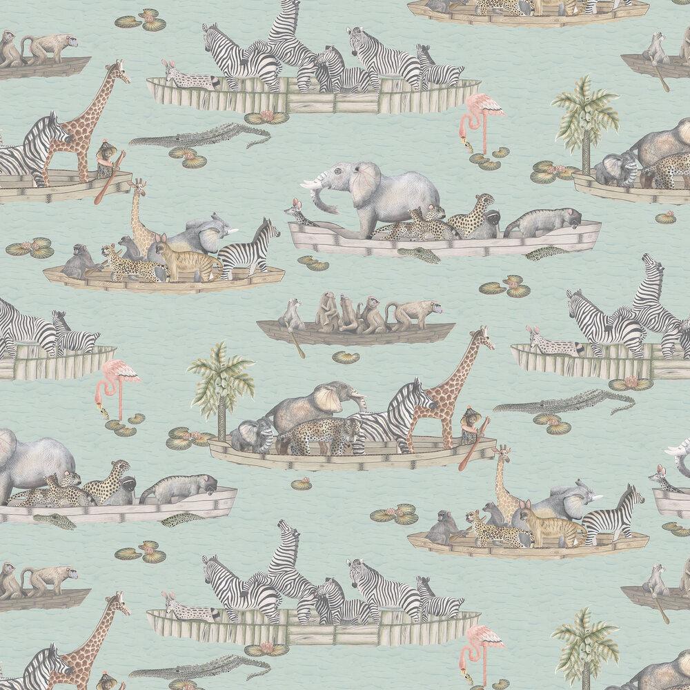 Zambezi Wallpaper - Multi - by Cole & Son