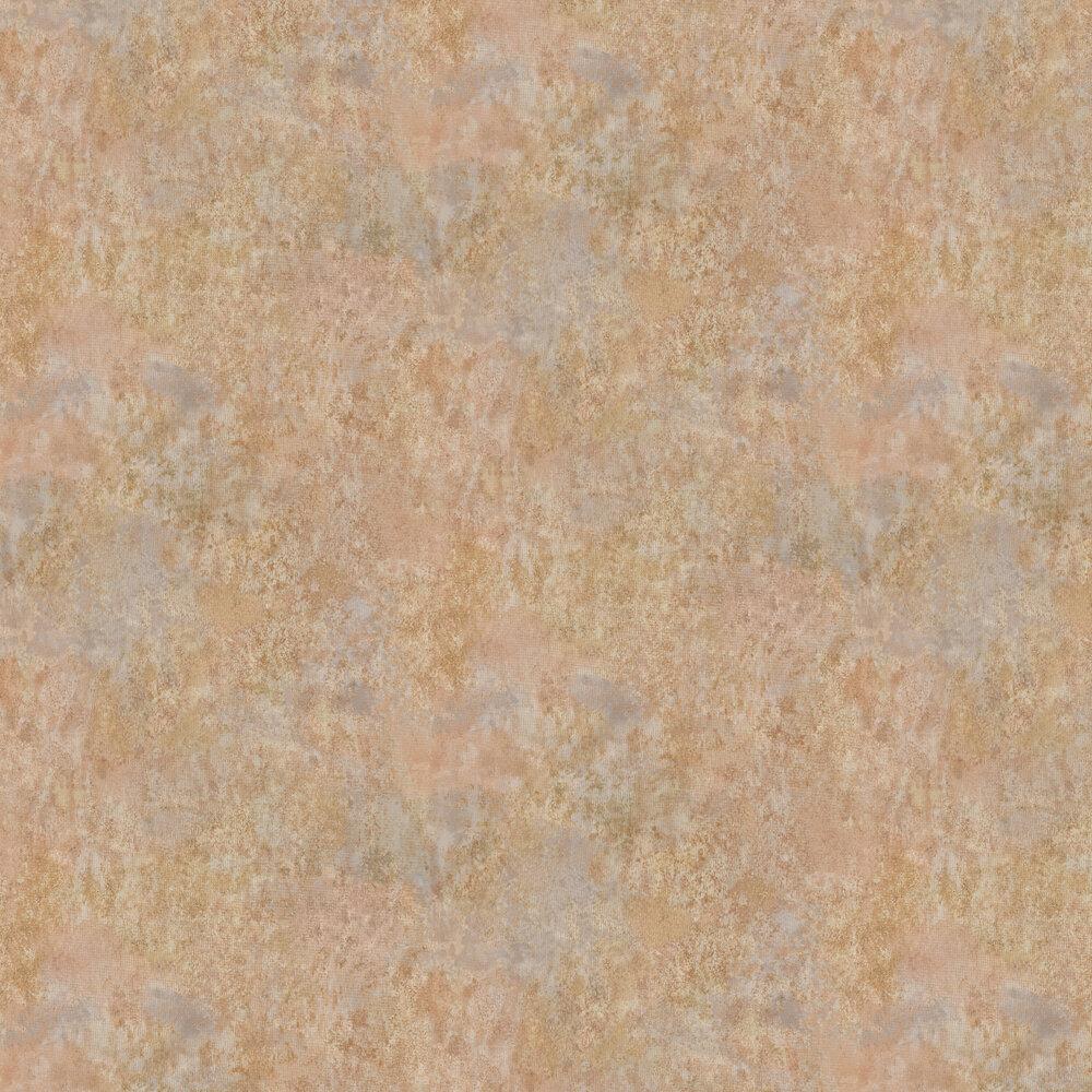Fresco Wallpaper - Rust / Ochre - by Osborne & Little