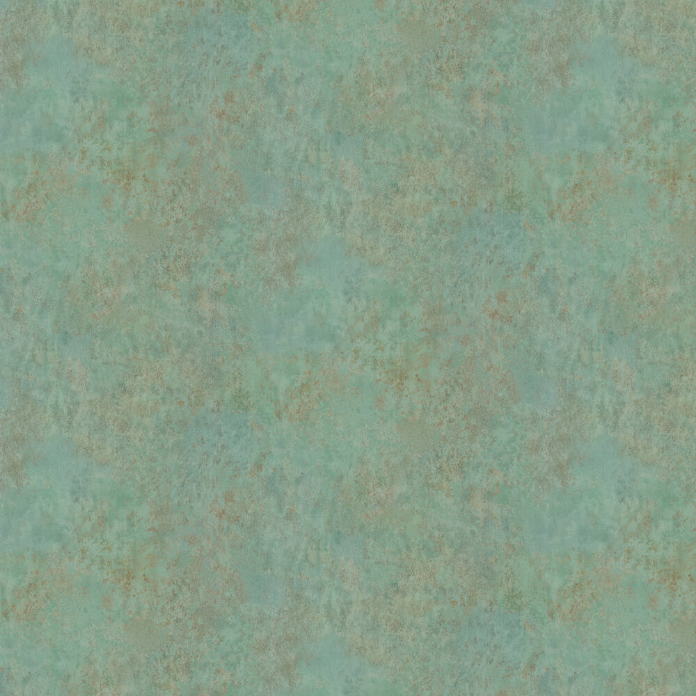 Fresco Wallpaper - Verdigris - by Osborne & Little