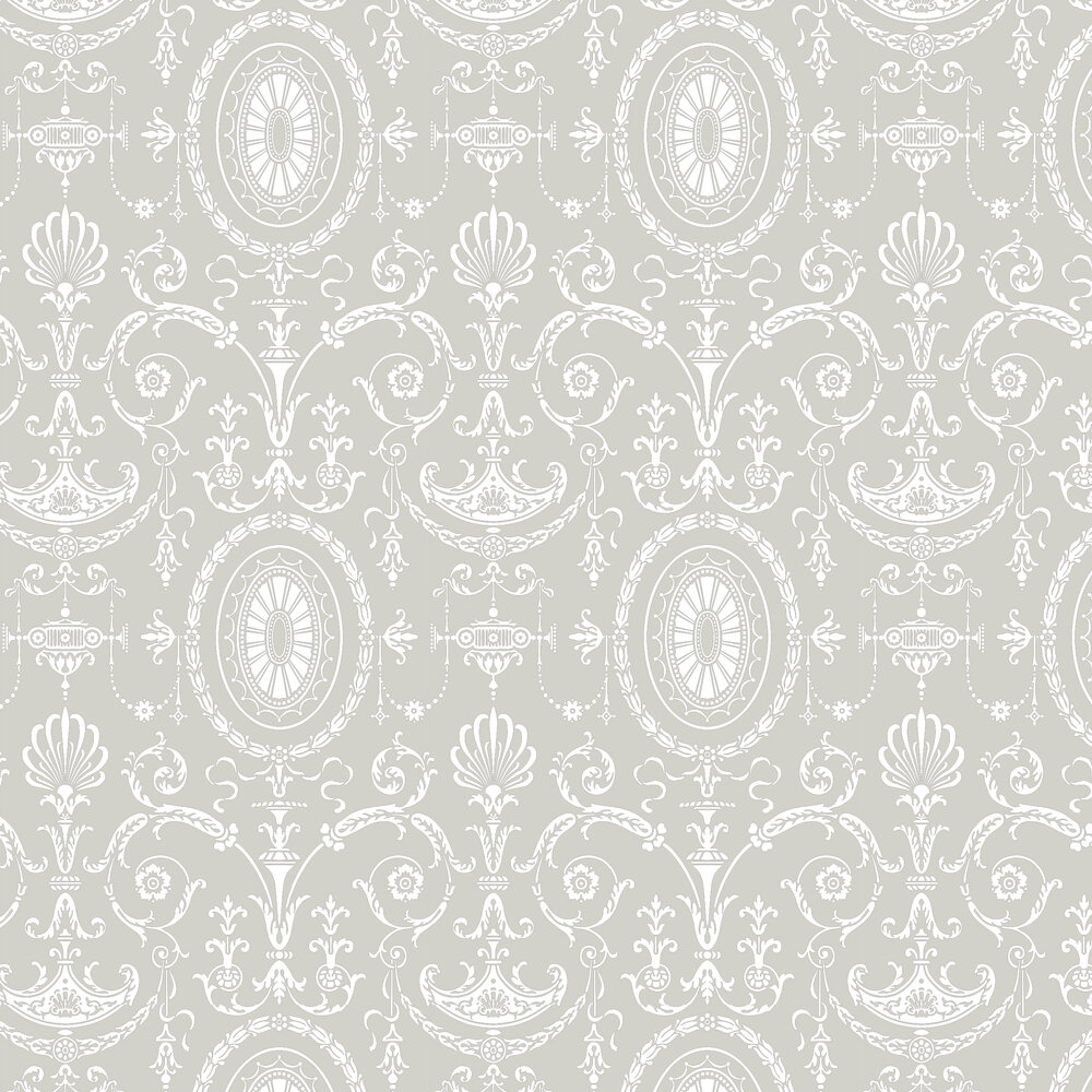 Pall Mall Wallpaper - Brume - by Little Greene