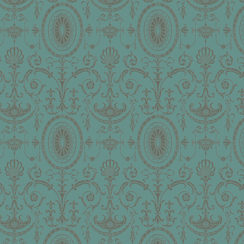 Little Greene Pall Mall Canton Gold Wallpaper - Product code: 0251PMCANTO