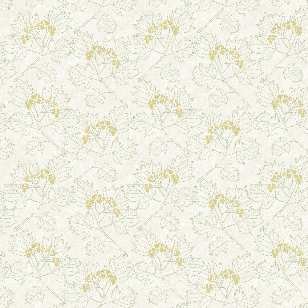 Elizabeth Ockford Nutley Green Wallpaper - Product code: WP0080302