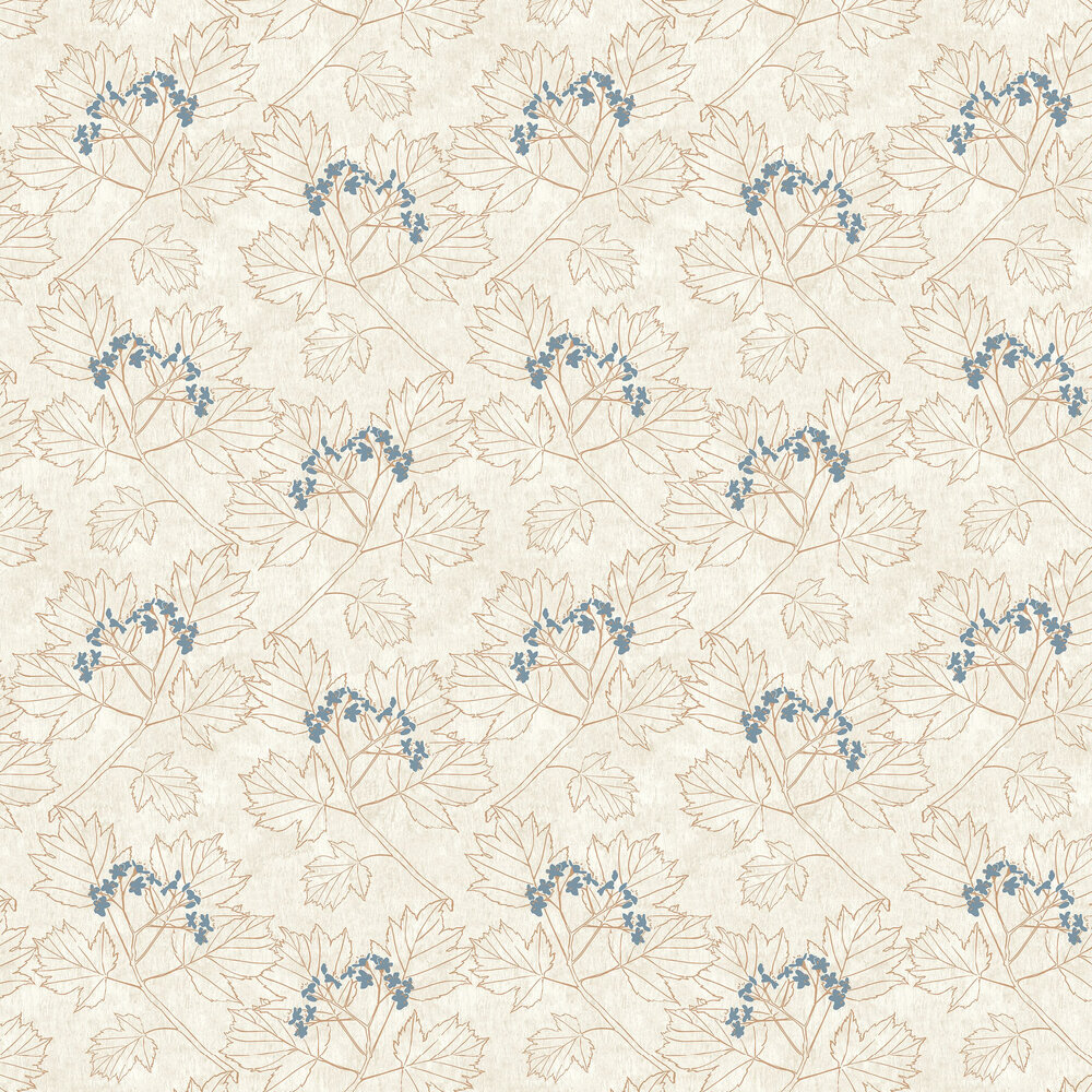 The Paper Partnership Nutley Beige / Copper Wallpaper - Product code: WP0080304
