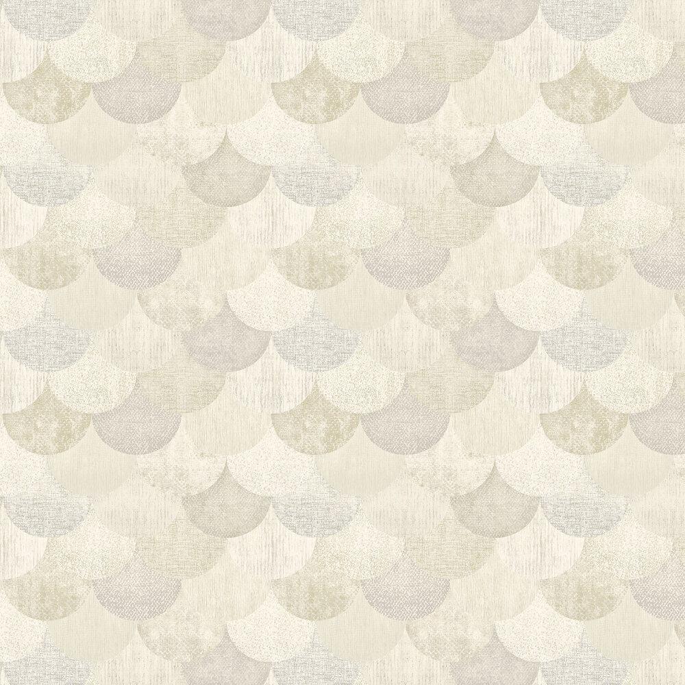 Elizabeth Ockford Paxhill Beige / Gold Wallpaper - Product code: WP0080401