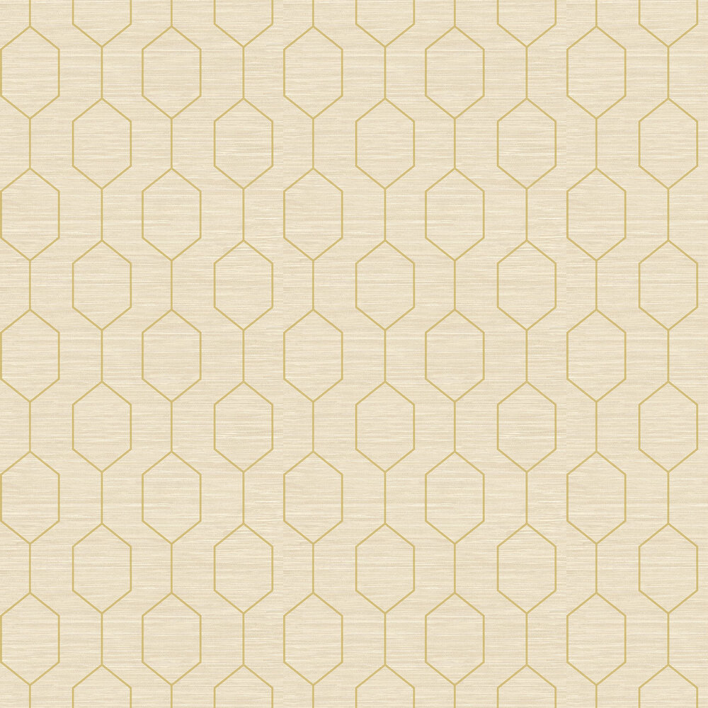 Elizabeth Ockford Kemptown Beige / Green Wallpaper - Product code: WP0080802