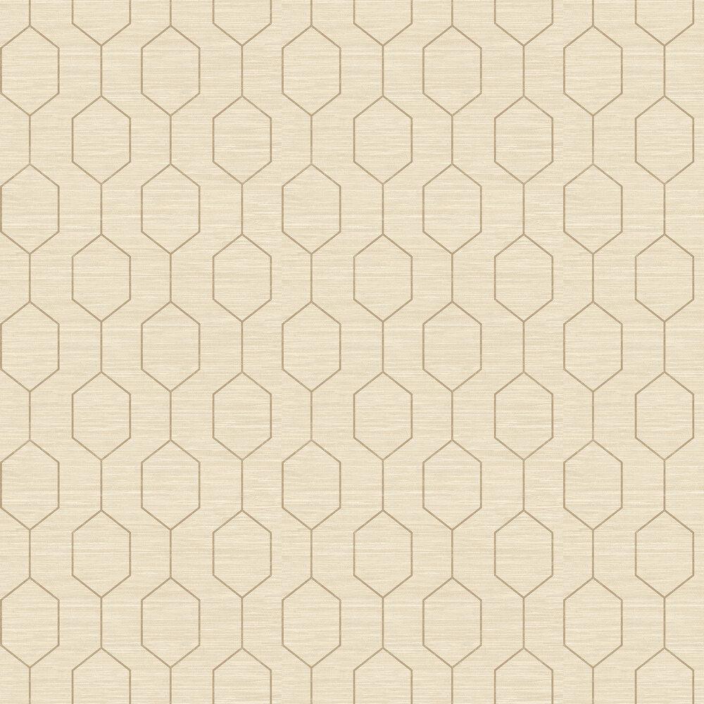 The Paper Partnership Kemptown Beige / Brown Wallpaper - Product code: WP0080801
