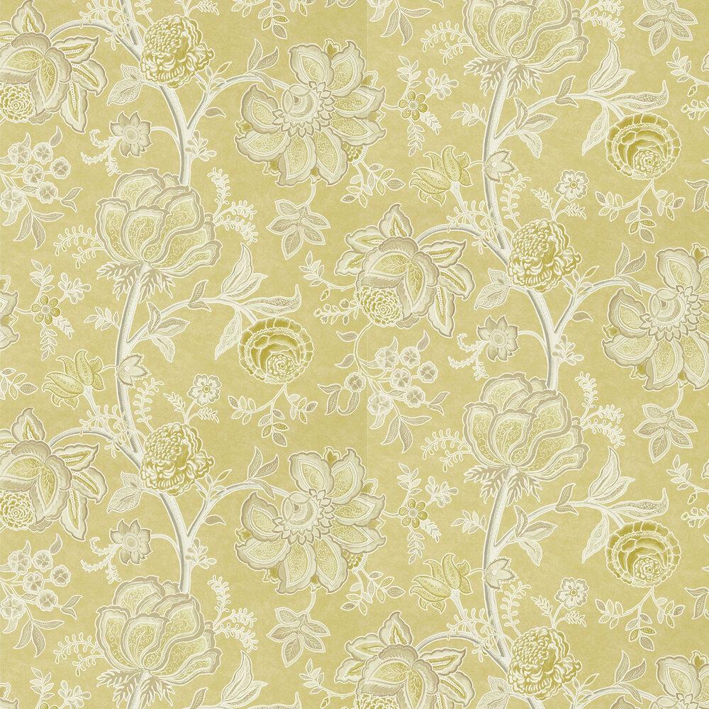 Shalimar Wallpaper - Linden / Taupe - by Sanderson