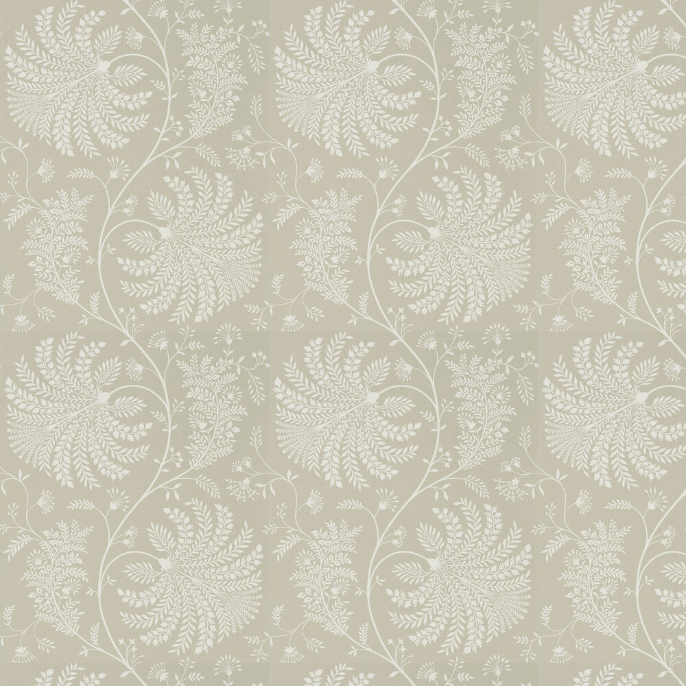 Sanderson Mapperton Linen / Cream Wallpaper - Product code: 216342
