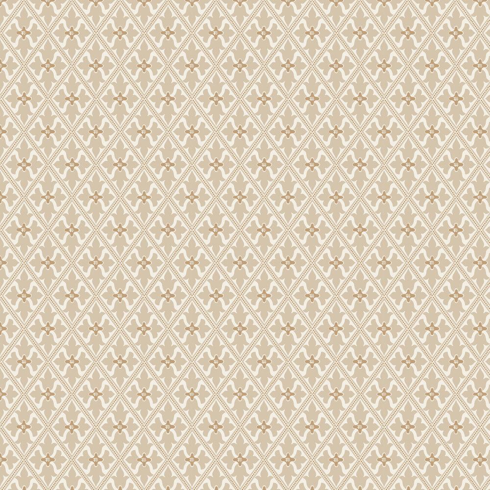 Bayham Abbey Wallpaper - Meteor - by Little Greene
