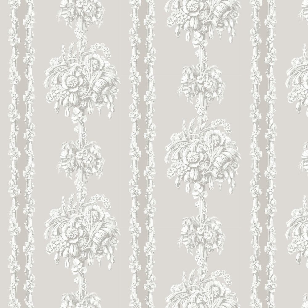 Chelsea Bridge Wallpaper - Hush - by Little Greene