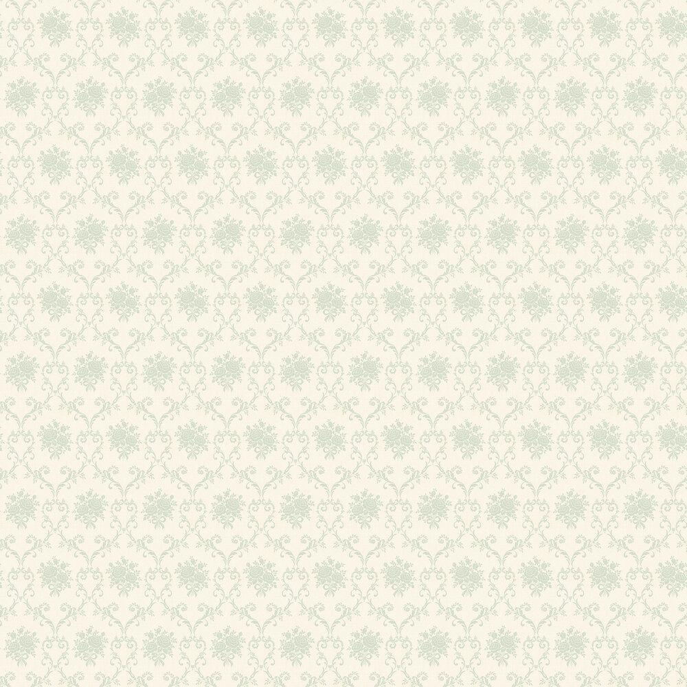Elizabeth Ockford Elizabeth Cream / Powder Blue Wallpaper - Product code: LL 00317