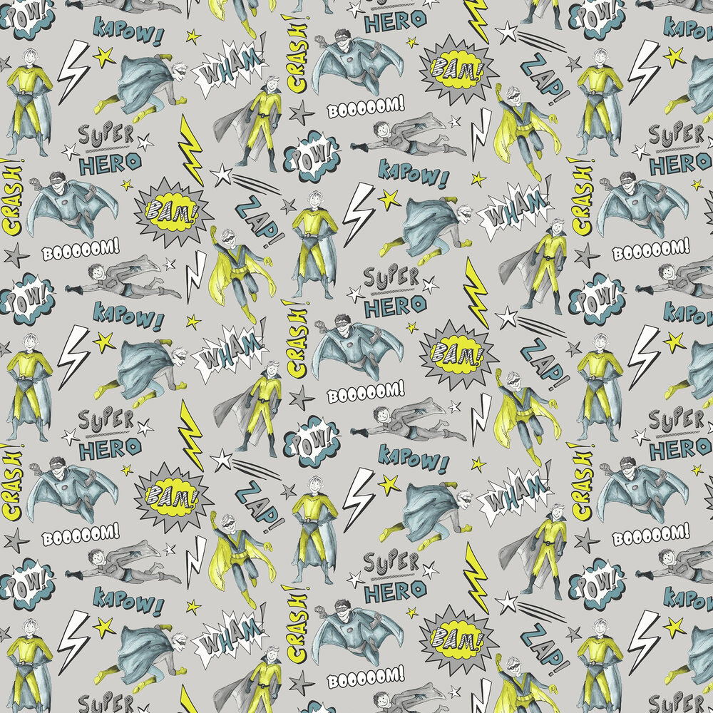 Arthouse Superhero Lime Wallpaper - Product code: 696201