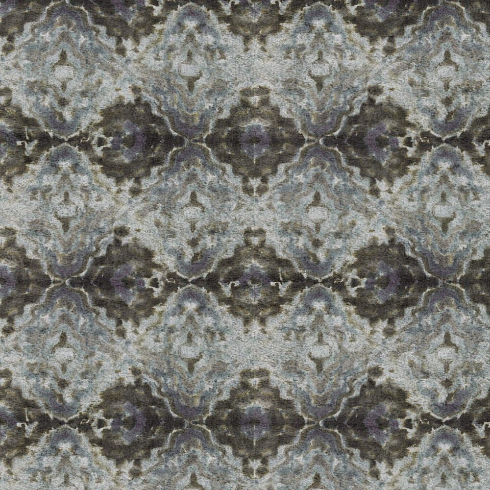 Envision Wallpaper - Amethyst / Aquamarine - by Anthology