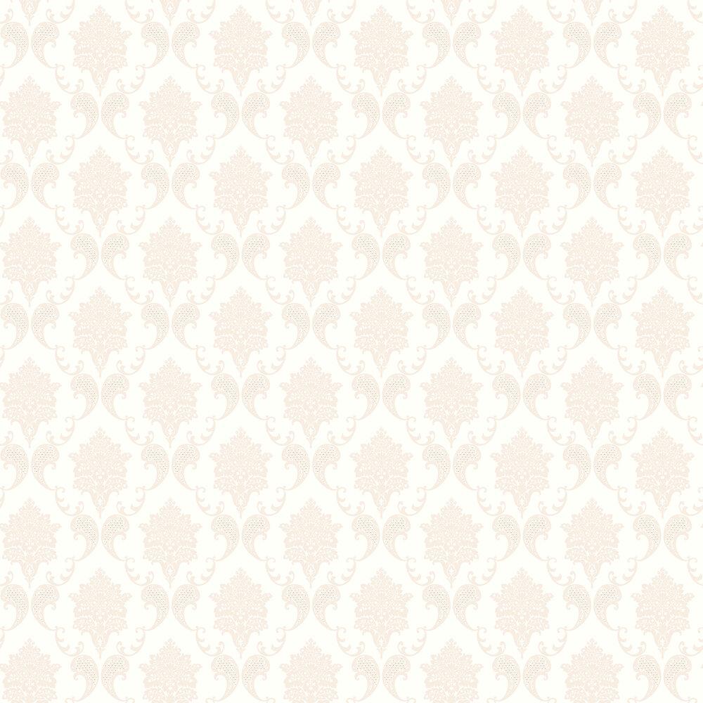 Elizabeth Ockford Grace Nutmeg / Cream Wallpaper - Product code: LL 00323