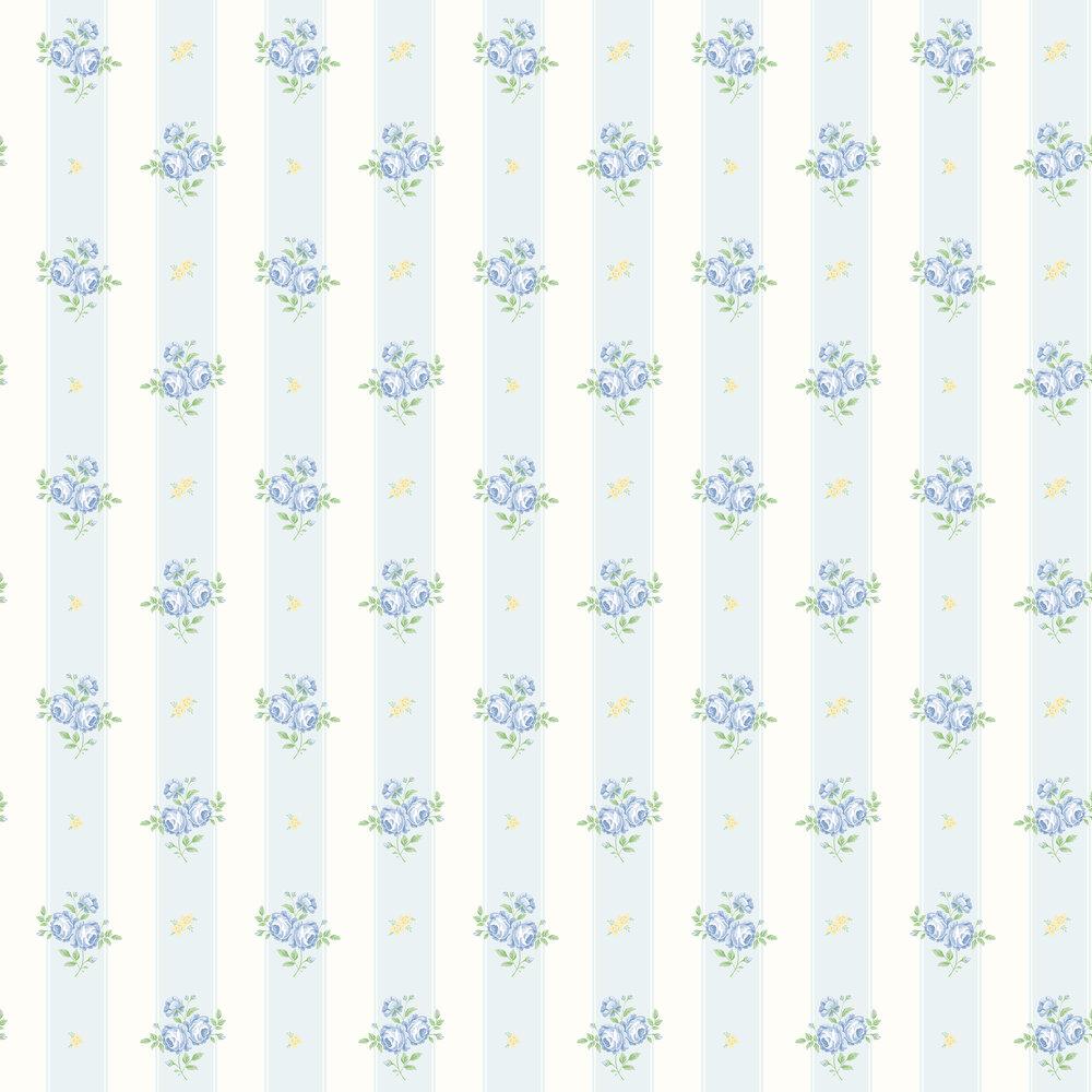 Elizabeth Ockford Jessica Blue / Yellow Wallpaper - Product code: LL 00342
