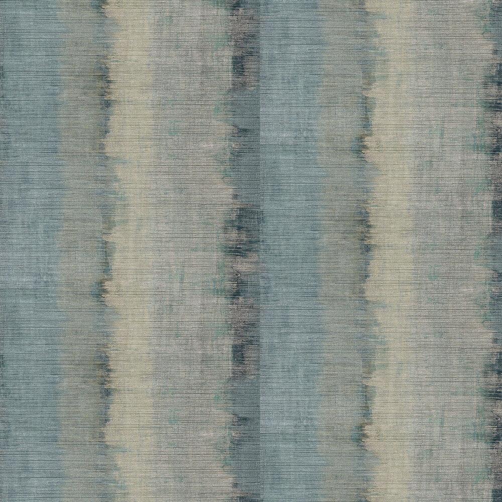 Lustre Wallpaper - Topaz / Argent - by Anthology