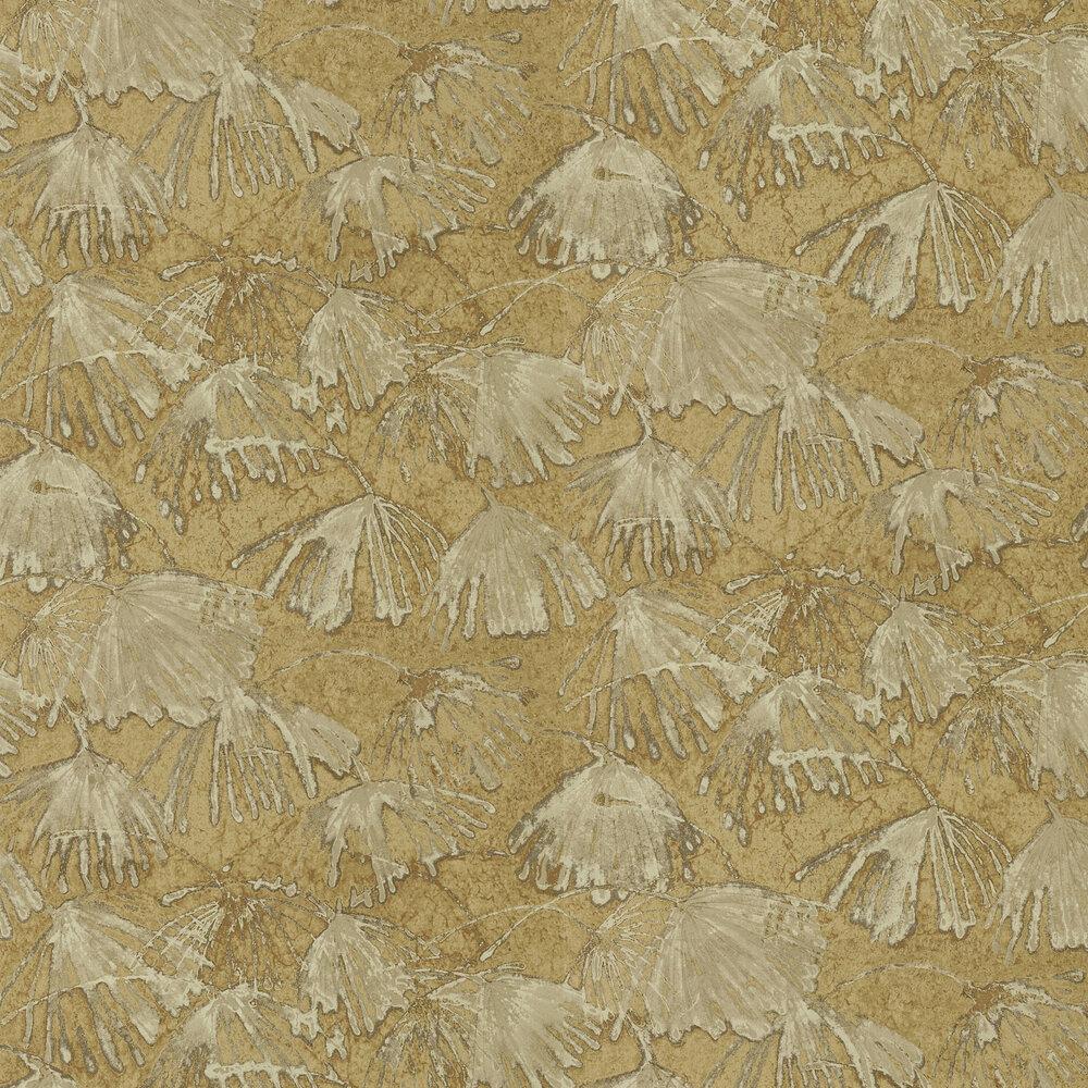 Iliad Wallpaper - Gold - by Zoffany