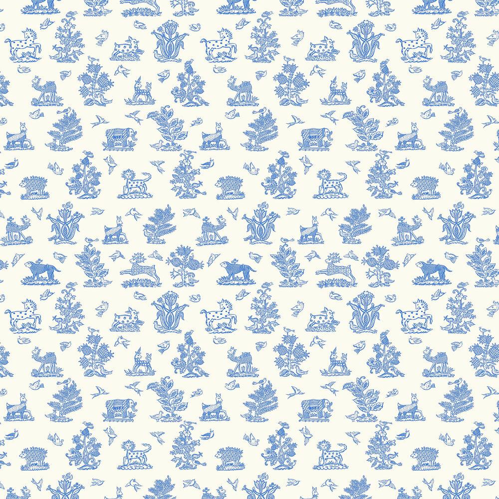 Blendworth Beasties Delft Wallpaper - Product code: CBW171