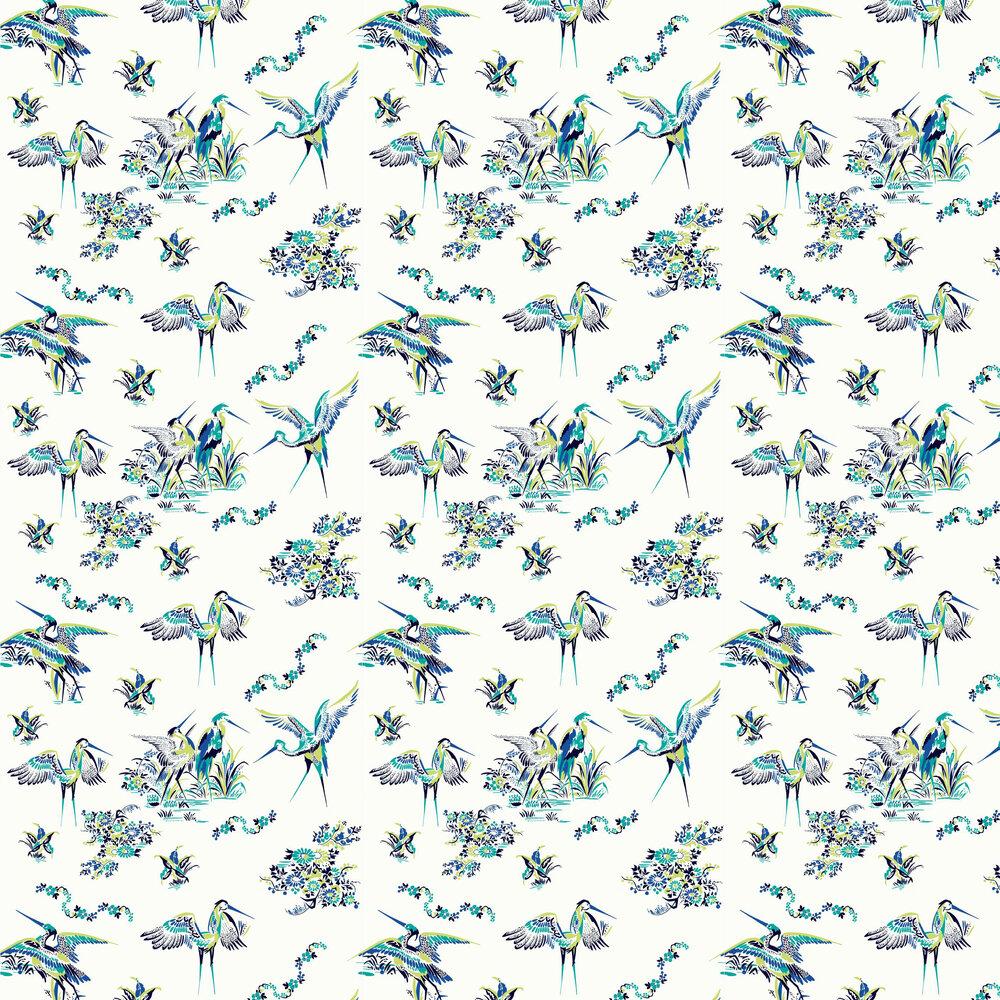 Coordonne Grulas De Papel Blue and White Wallpaper - Product code: 5900002