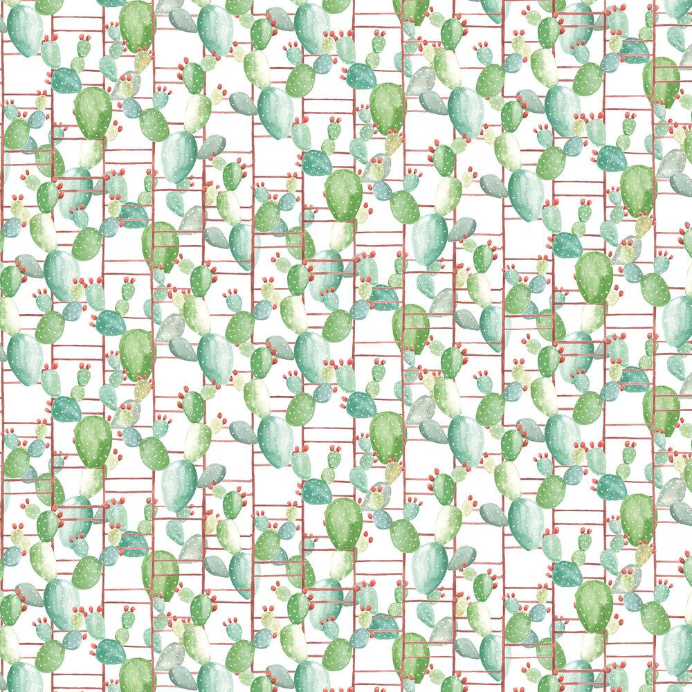 Chumbera Wallpaper - White - by Coordonne