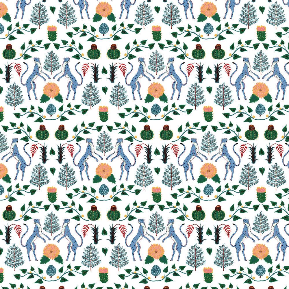 Coordonne Cheetahs Multi Wallpaper - Product code: 5900043