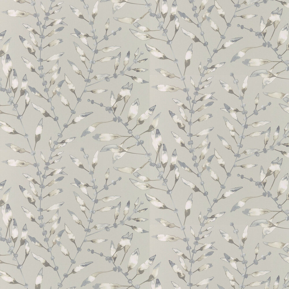 Harlequin Chaconia Graphite / Mustard Wallpaper - Product code: 111632