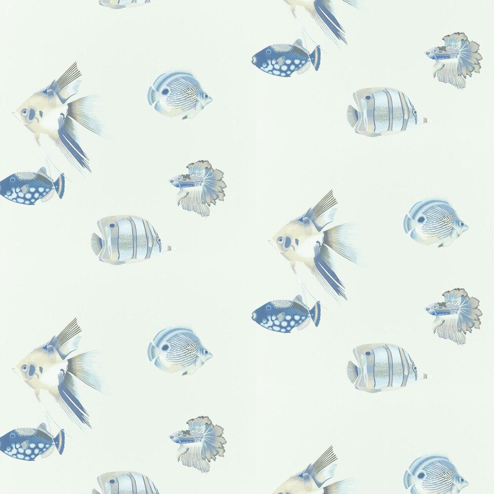 Harlequin Kamanu Indigo / Pebble Wallpaper - Product code: 111649