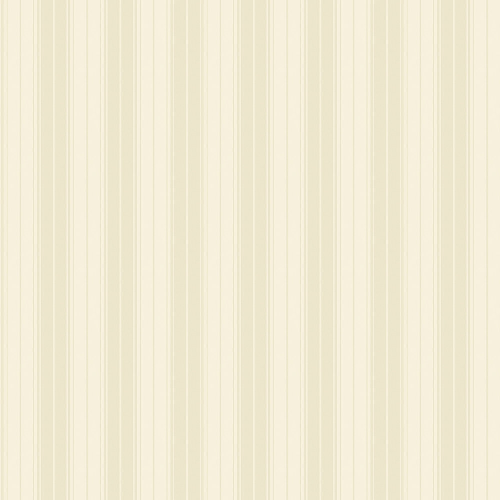 Clara Stripe Wallpaper - Cream - by Albany