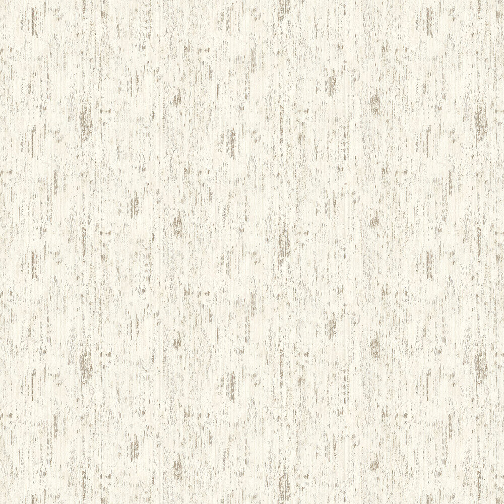 Pembury Wallpaper - White - by Elizabeth Ockford