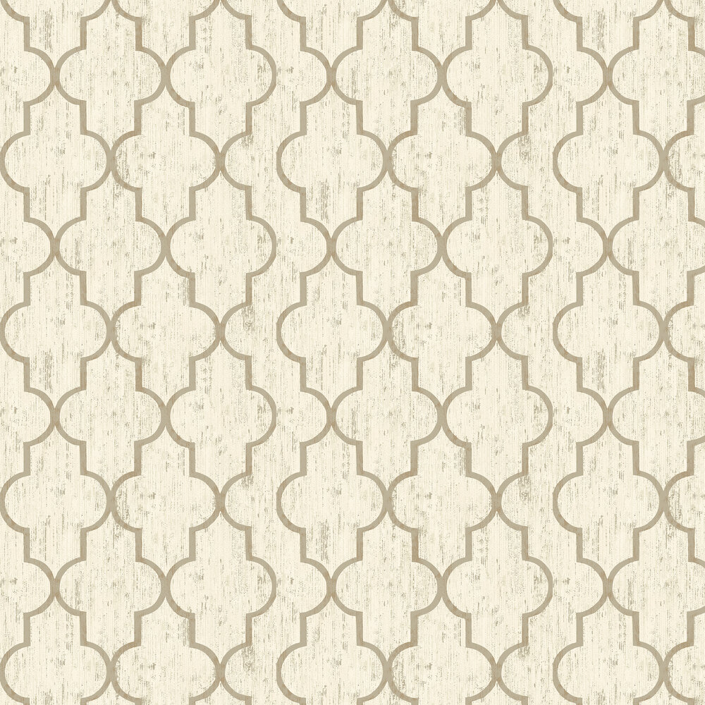 Elizabeth Ockford Clayton Gold Wallpaper - Product code: EO00210