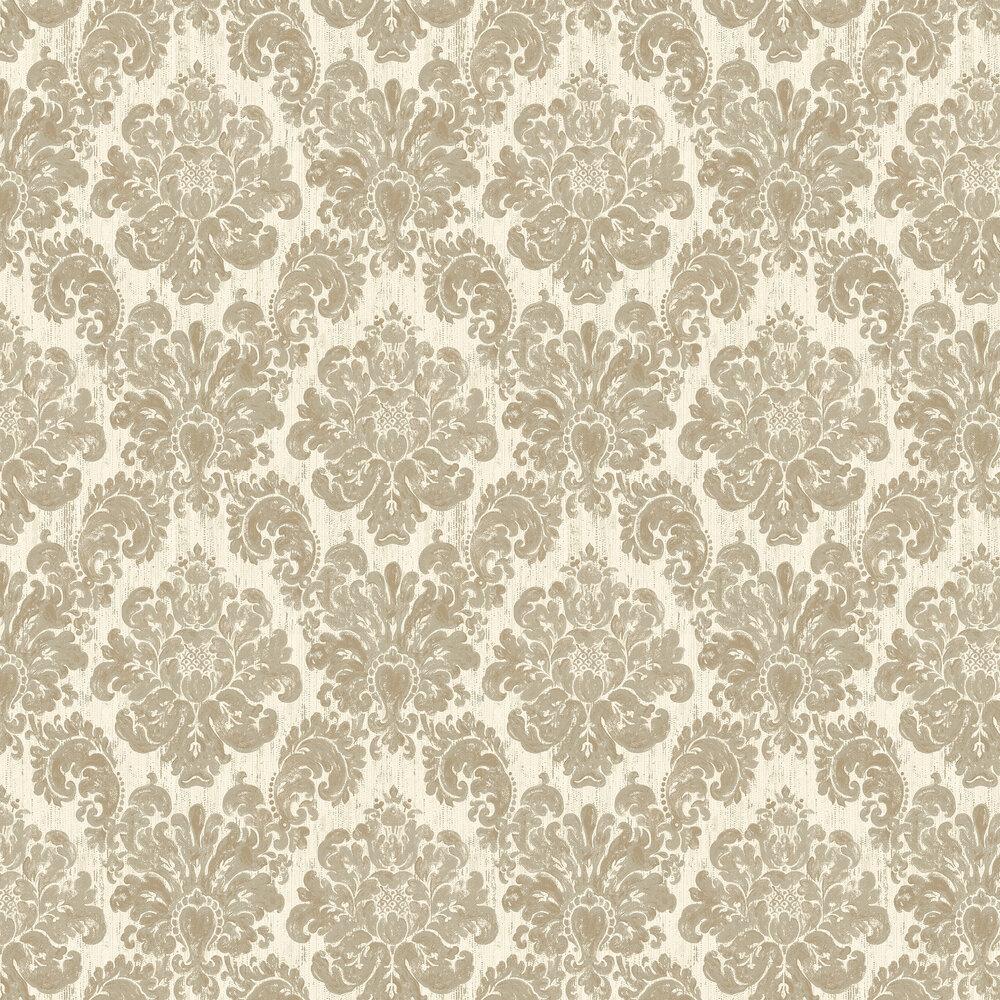 Elizabeth Ockford Fernhurst Gold Wallpaper - Product code: EO00211