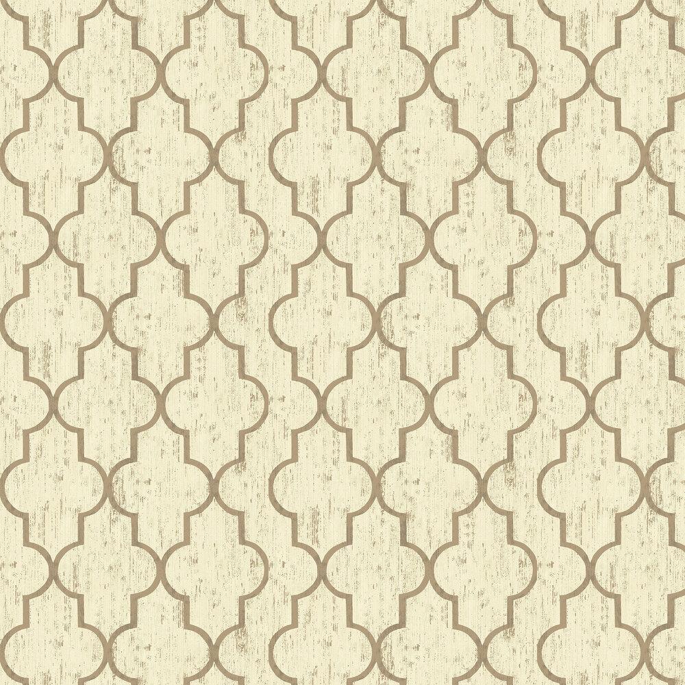Elizabeth Ockford Clayton Tobacco Wallpaper - Product code: EO00214