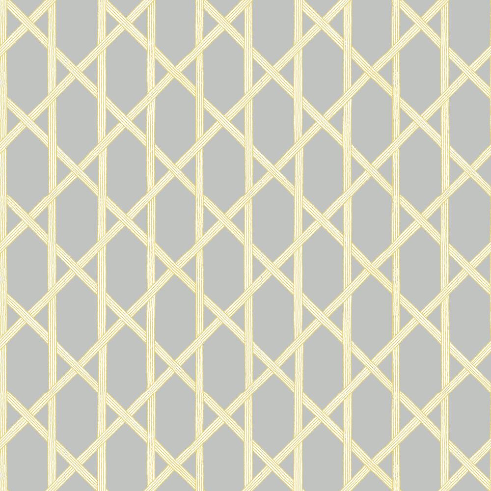 Mandara Wallpaper - Grey - by Brewers