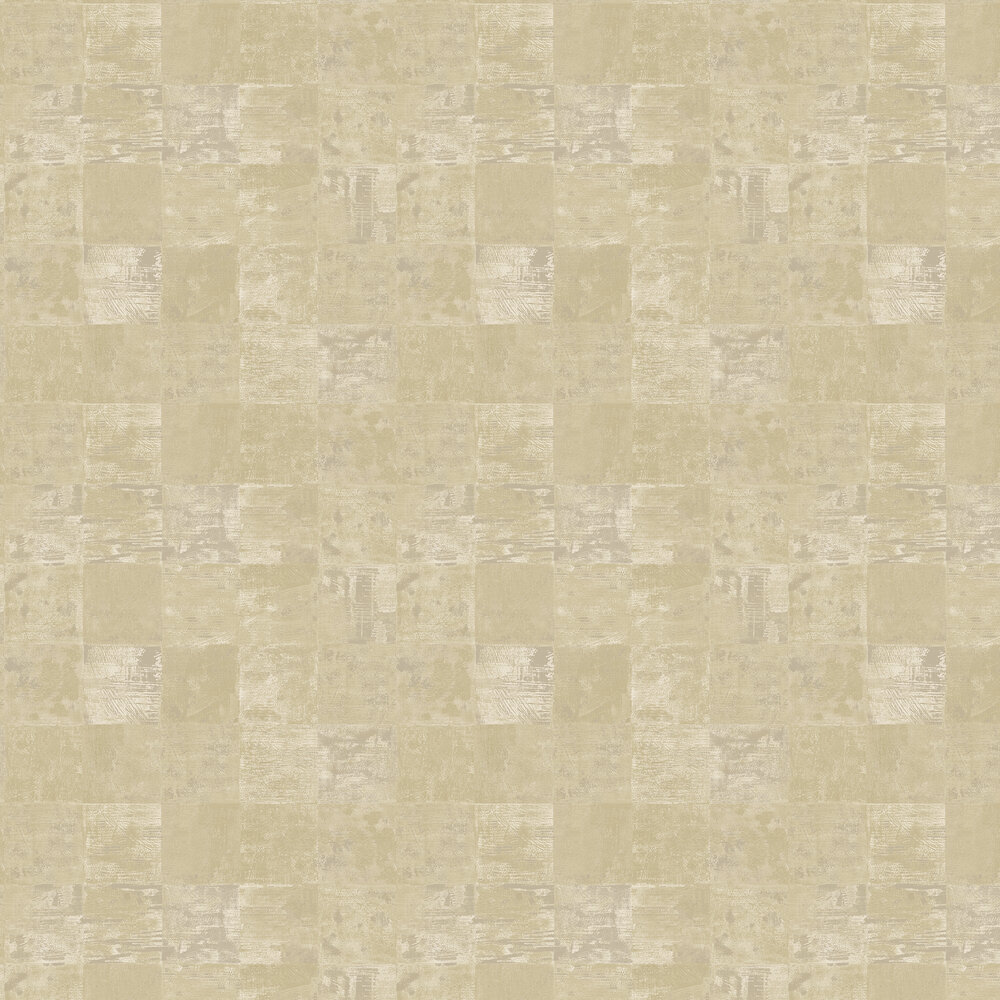Ditchling Wallpaper - Pale Corn - by Elizabeth Ockford