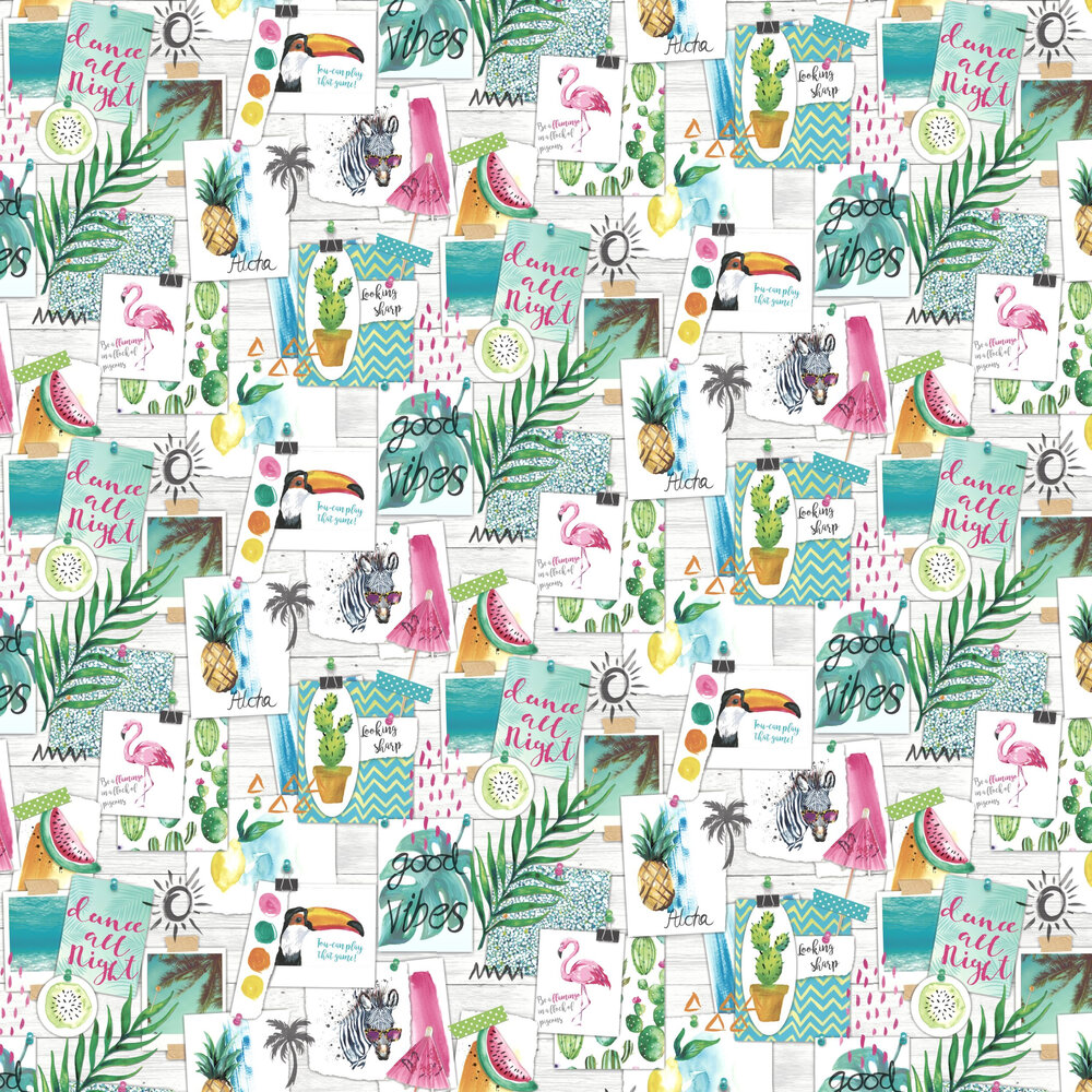 Albany Aloha Multi Wallpaper - Product code: 12150