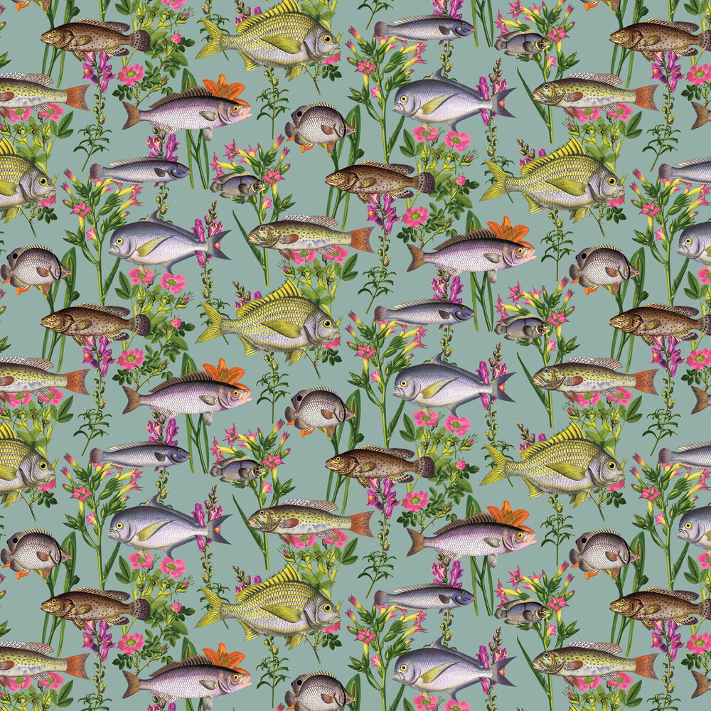 Albany Lagoon Multi Wallpaper - Product code: 12171