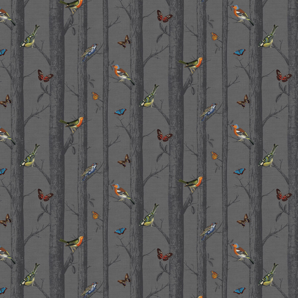 Albany Epping Black Wallpaper - Product code: 12230
