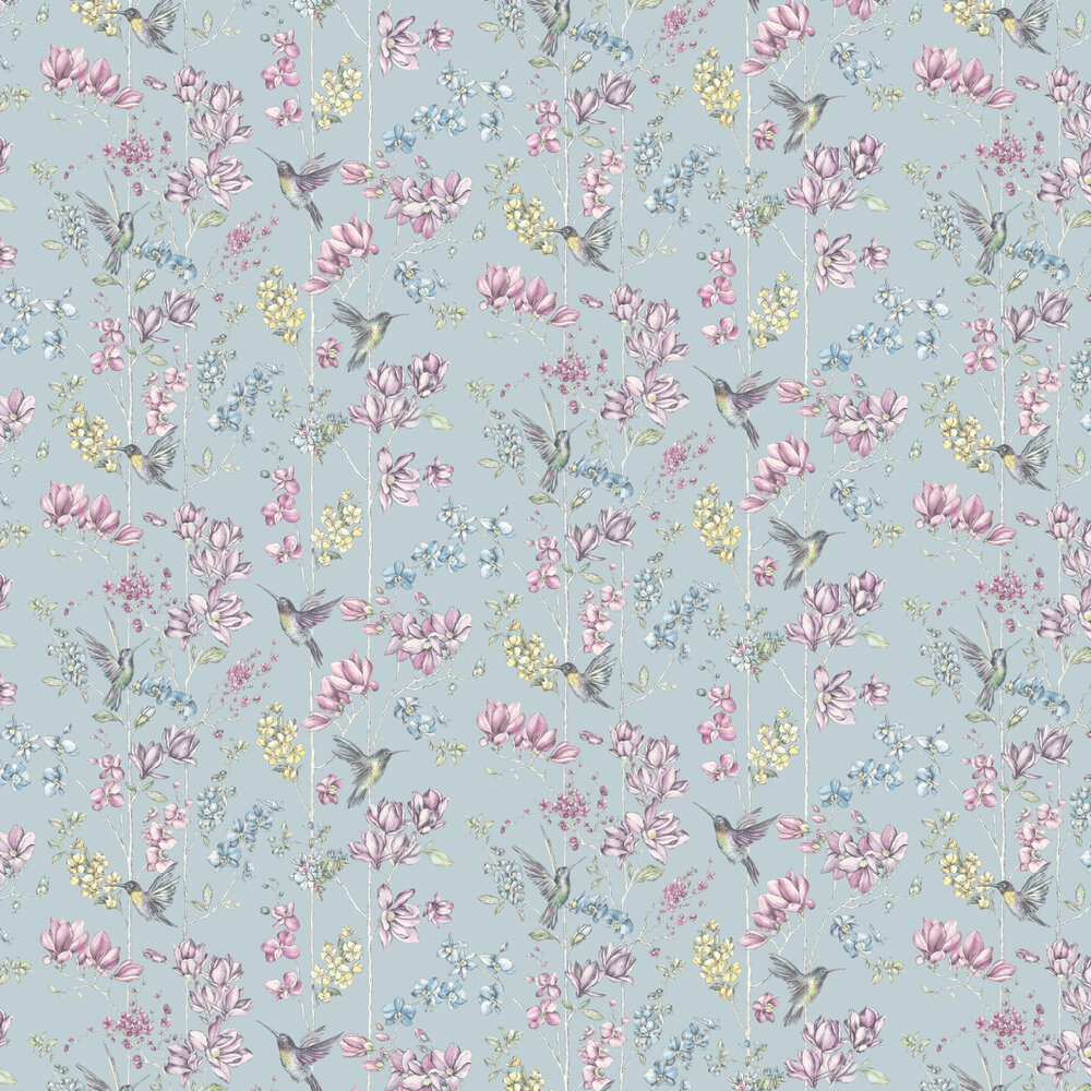 Albany Charm Blue Wallpaper - Product code: 12391