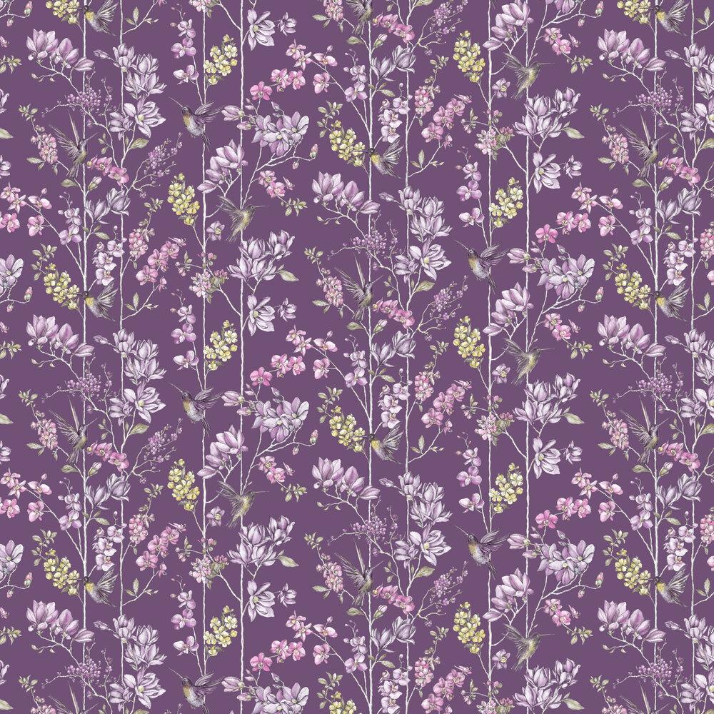 Albany Charm Plum Wallpaper - Product code: 12392