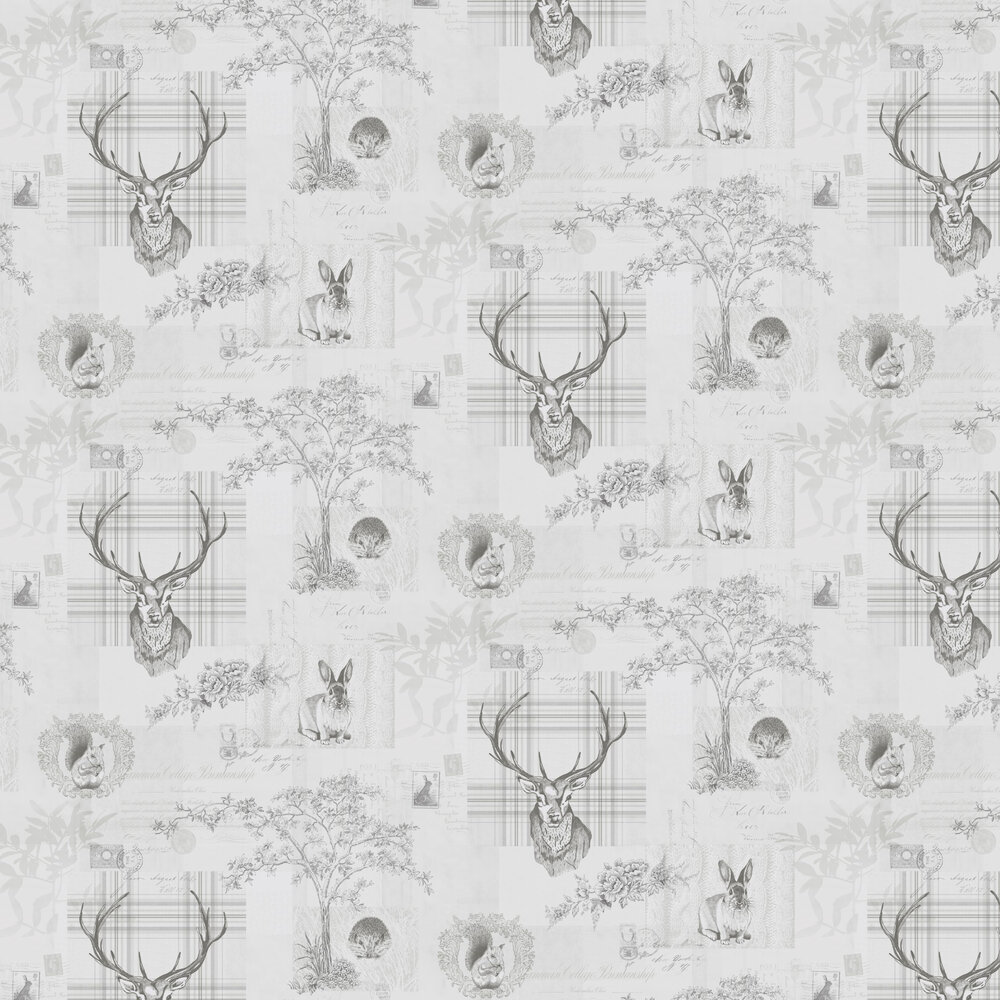 Richmond Wallpaper - Silver - by Albany