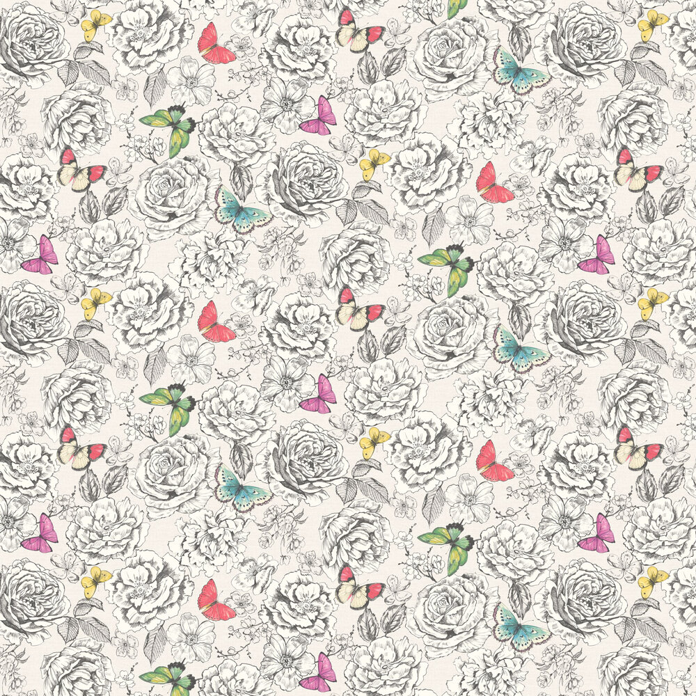 Albany Primrose Off White Wallpaper - Product code: 98830