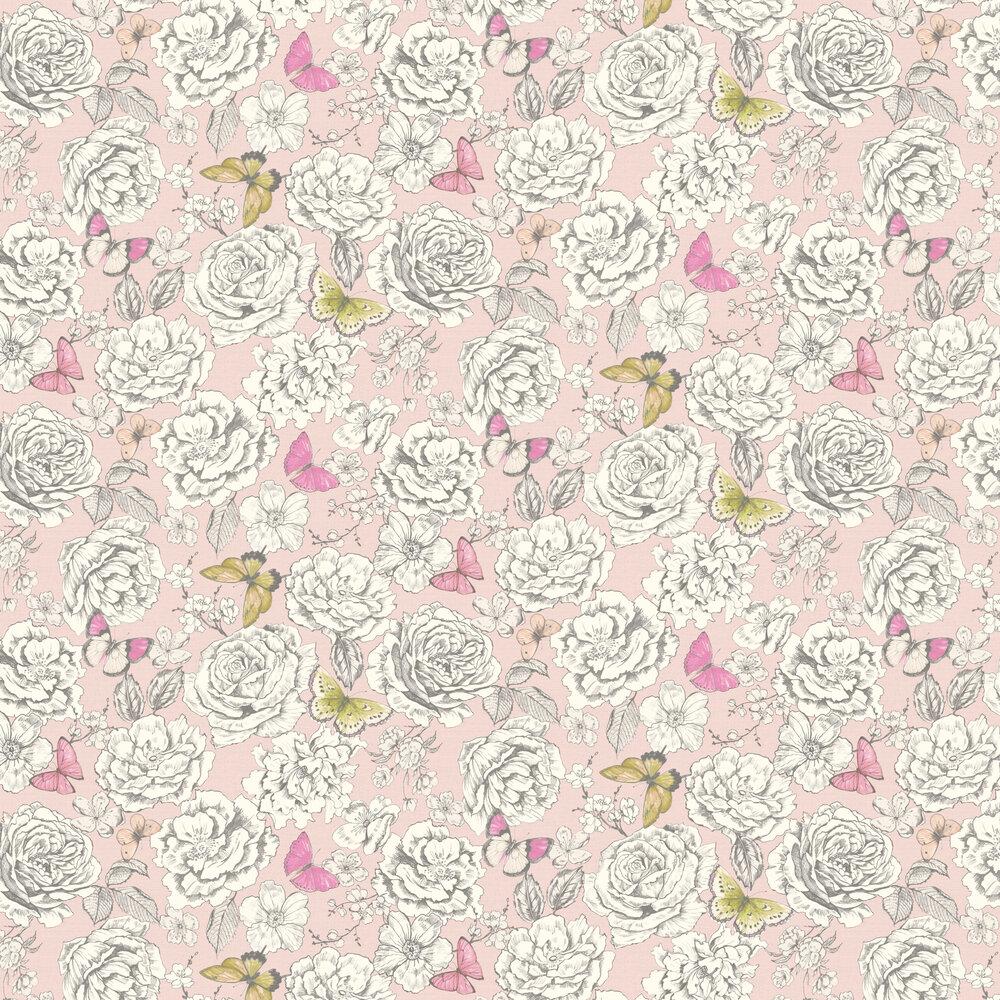 Albany Primrose Pink Wallpaper - Product code: 98832