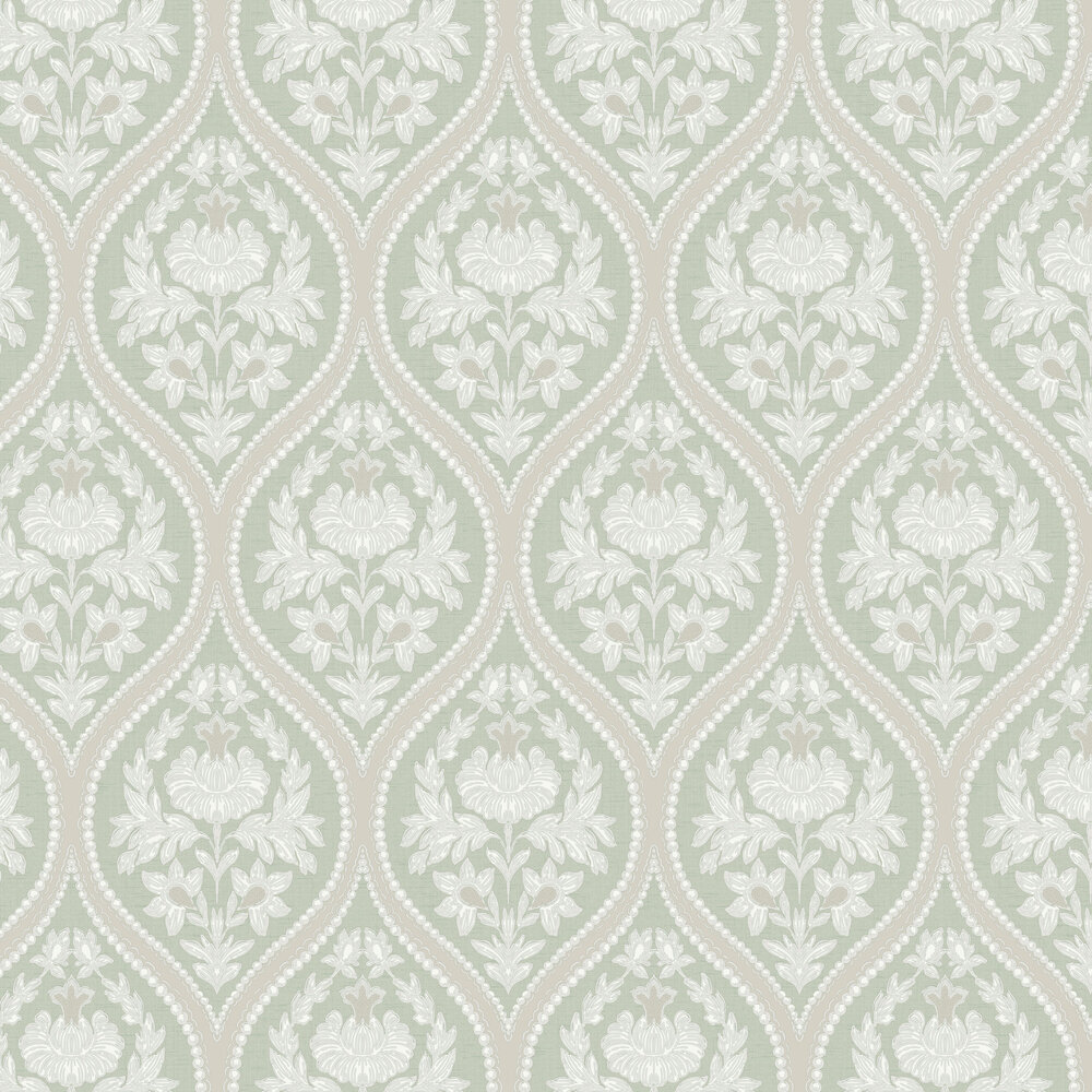 Albany Pienza Green Wallpaper - Product code: 35482