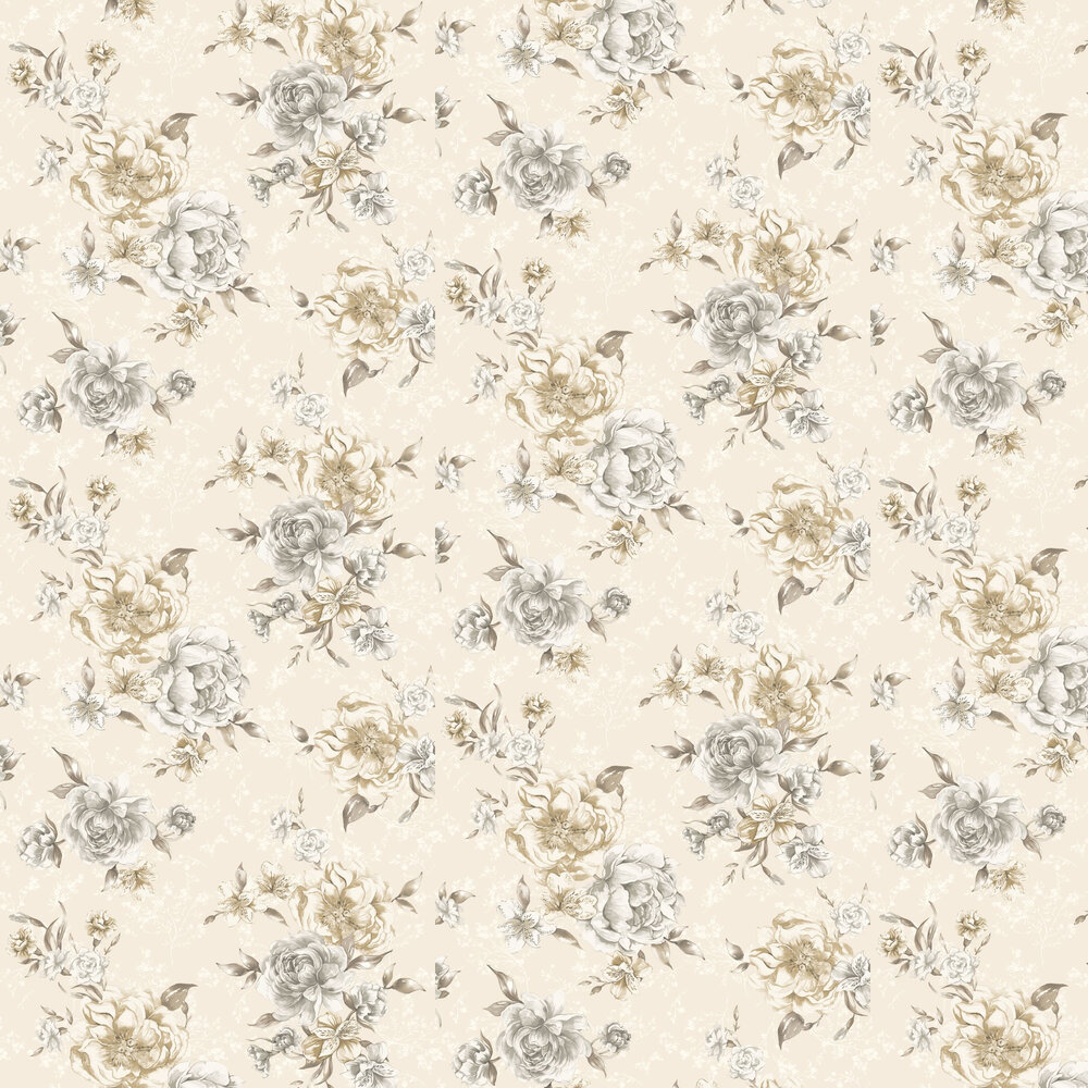 Josephine Wallpaper - Beige - by Albany