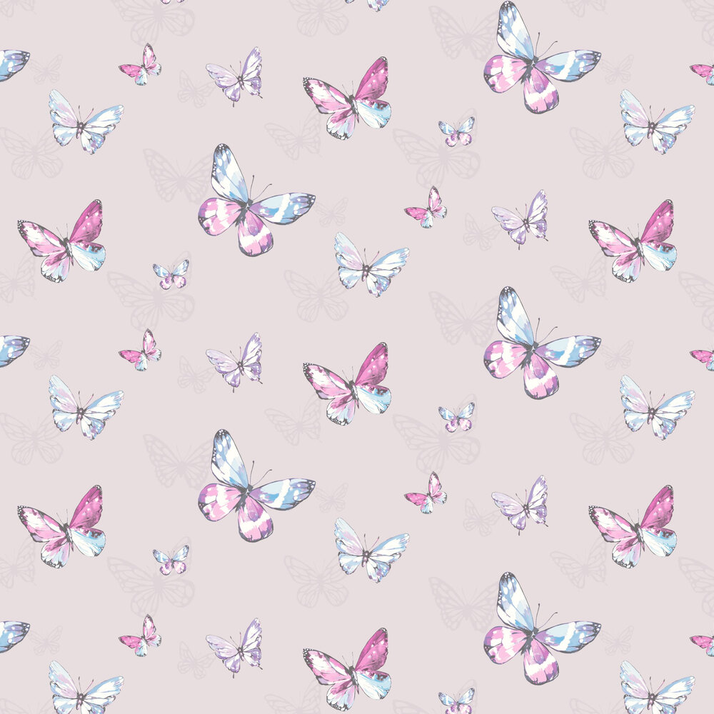 Albany Amelia Pale Lilac Wallpaper - Product code: 98870