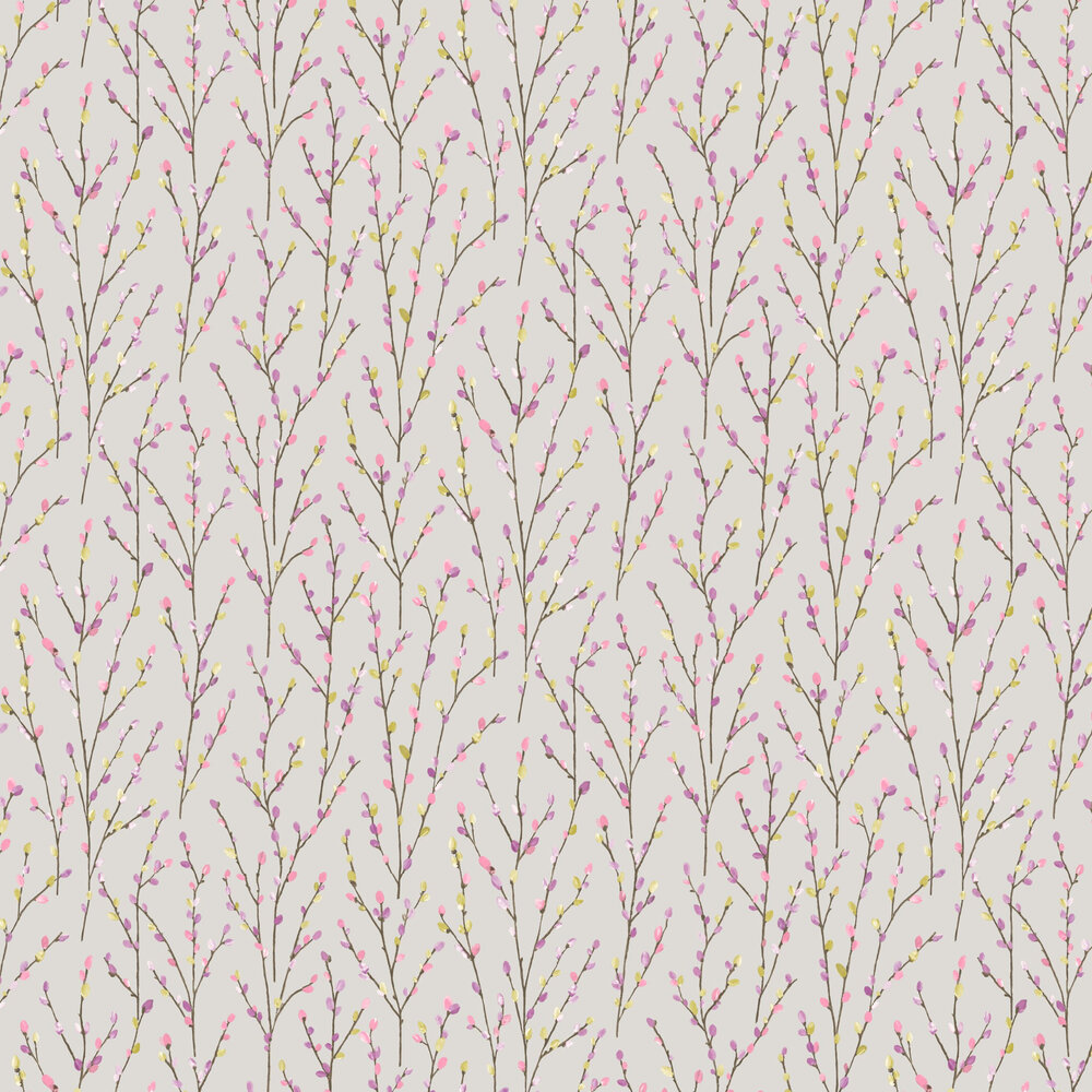 Willow Wallpaper - Grey - by Albany