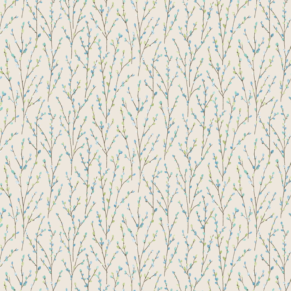 Willow Wallpaper - White - by Albany
