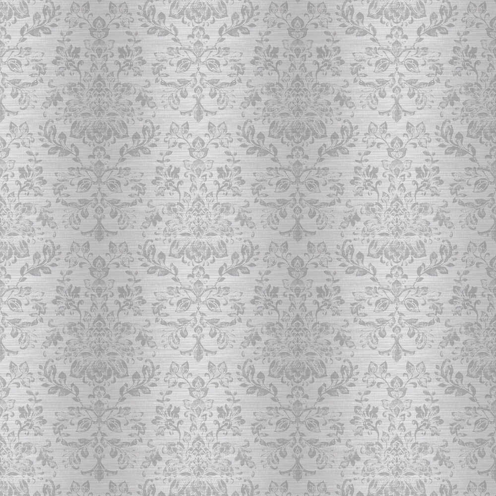 Kyasha Wallpaper - Silver - by Arthouse