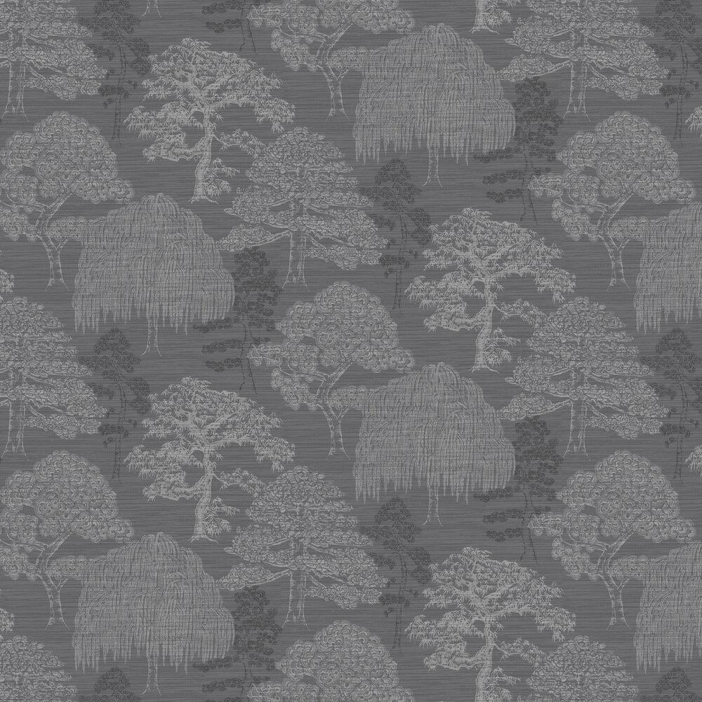 Arthouse Meili Gunmetal Silver Wallpaper - Product code: 293007