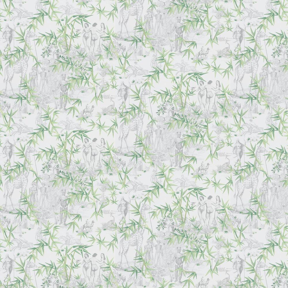 Exotisme Wallpaper - Vert Buis - by Christian Lacroix